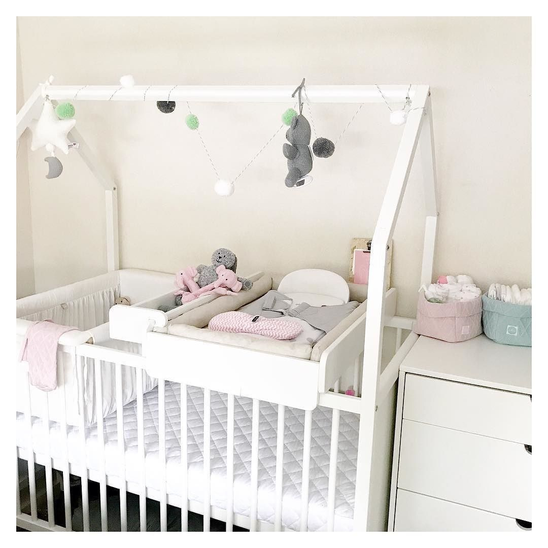 The Stokke Home Crib: A Bed, A Changing Station U0026 Playhouse In One. See The  Compact + Expanded Configurations ☝️
