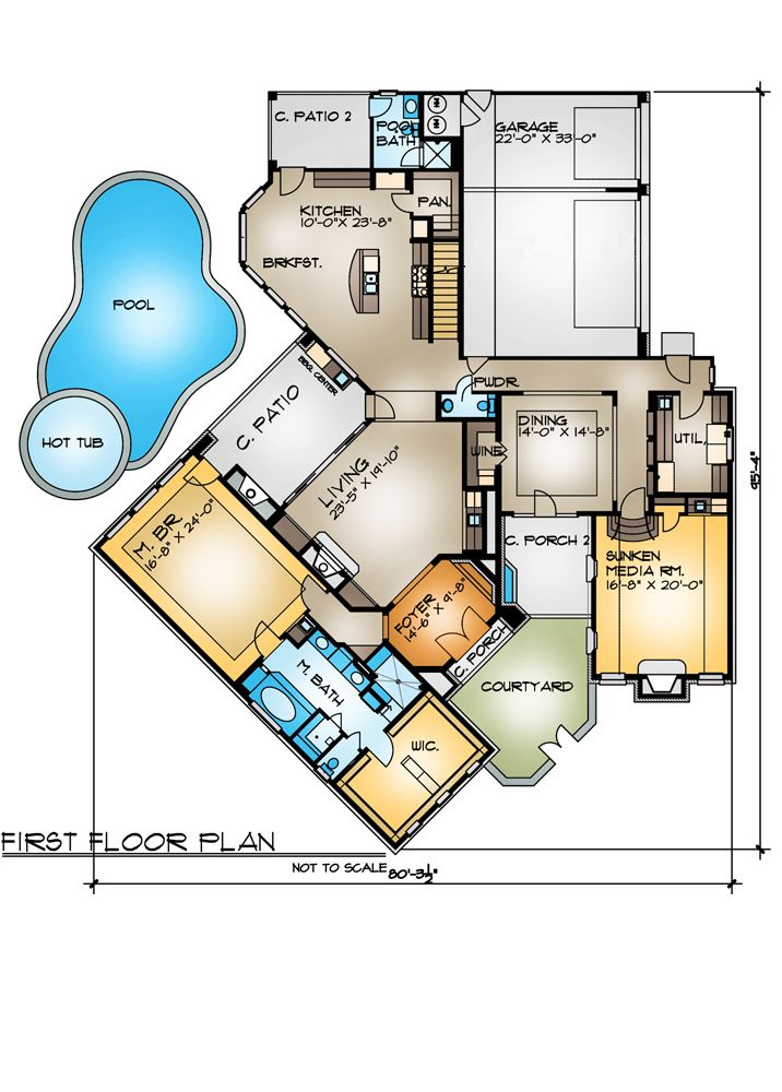 Pin On House Plans With Outdoor Living Spaces