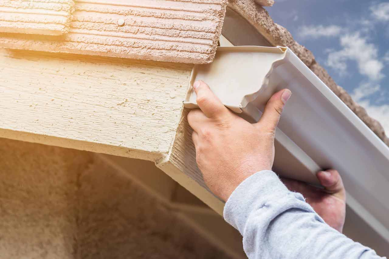 At Certified Roofing Gutters Our Professional Roofing Teams Focus On Utilizing The Best Technologies How To Install Gutters Gutter Repair Cleaning Gutters