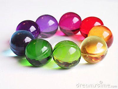 Bath Balls Rainbow Circle By Ula Kapala Via Dreamstime