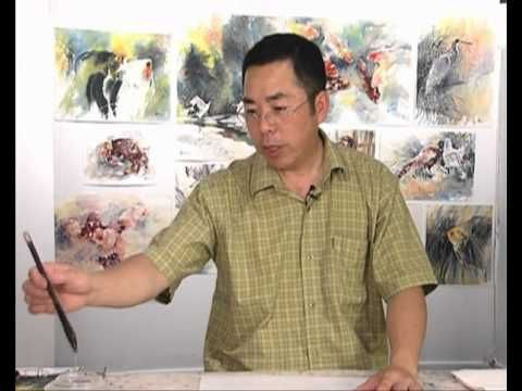Dvd Chinese Watercolour Techniques Painting Animals With Lian