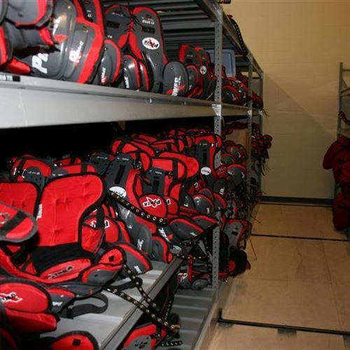 Pin On Football Equipment Storage