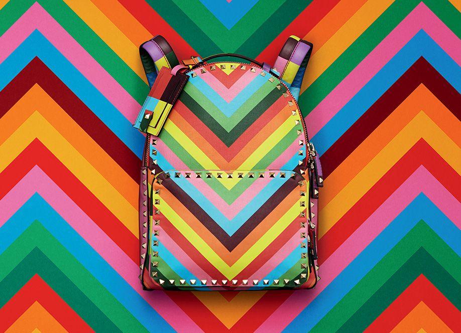 263c985d4491 Valentino rainbow fashion accessories