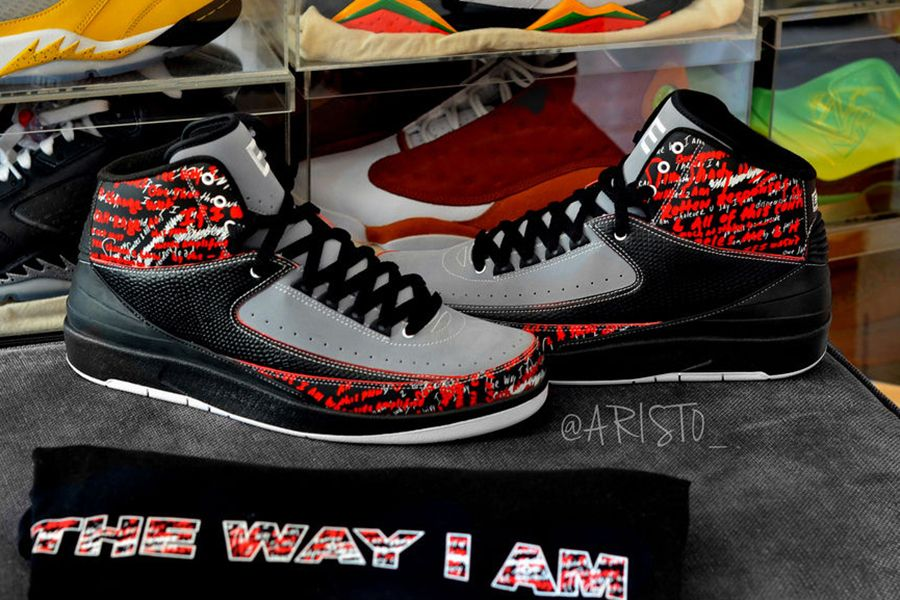 "wholesale dealer bfbcd 1daf0 Eminem x Air Jordan 2 ""The Way I Am"" – 2008"