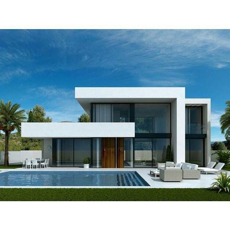 Appartement Contemporain, Maison Avec Patio, Maison Toit Plat, Modèle Maison,  Plan Maison