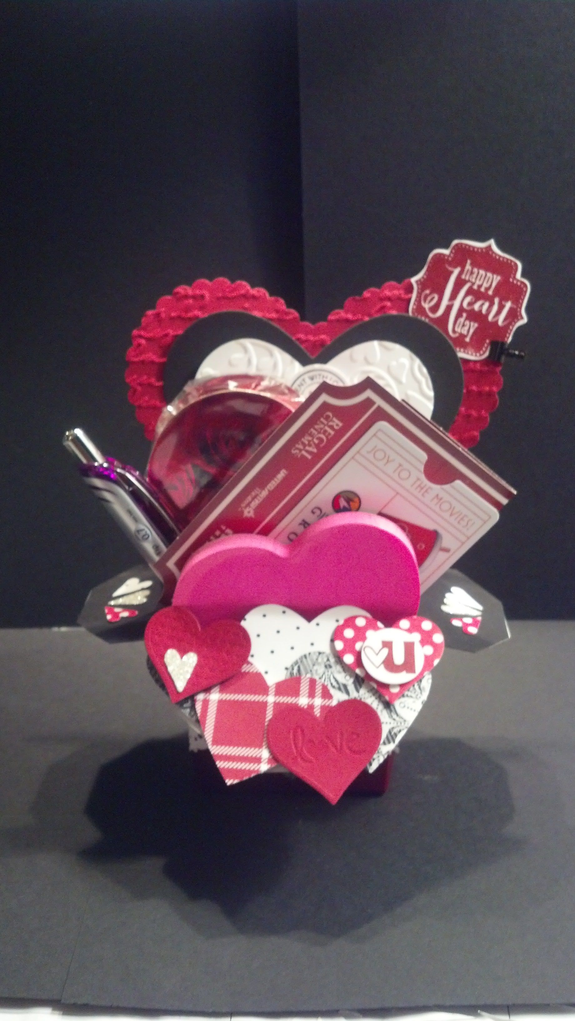Exploding Valentine's Day Card Gift | Christmas ornaments ...
