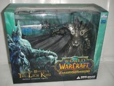 The Lich King Arthas Menethil World of Warcraft WOW Deluxe Collector Figure
