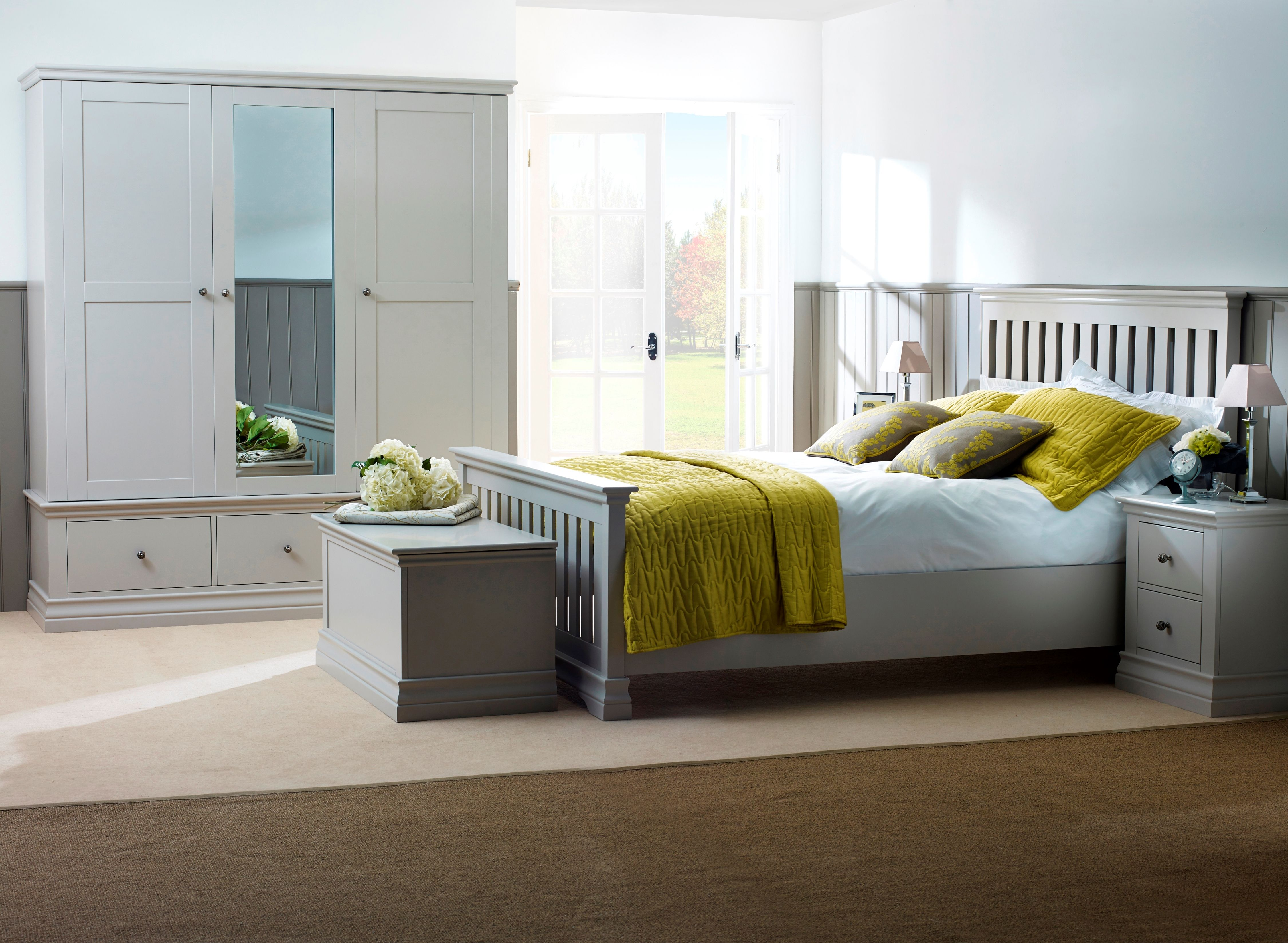 Stunning handpainted Annecy bedroom furniture Painted
