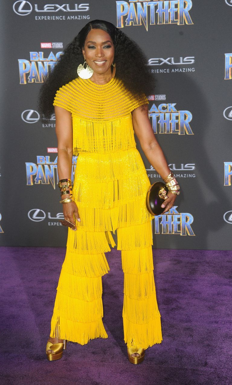 See all the incredible looks from the ublack pantheru world premiere