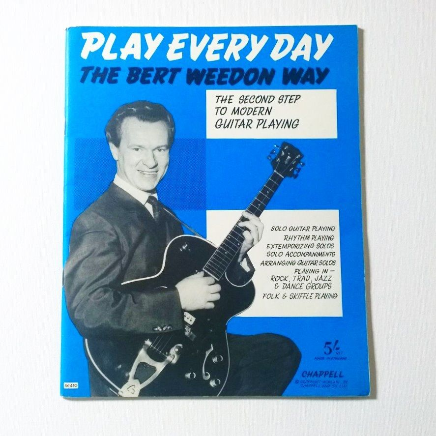 Bert Weedon Play In A Day Book