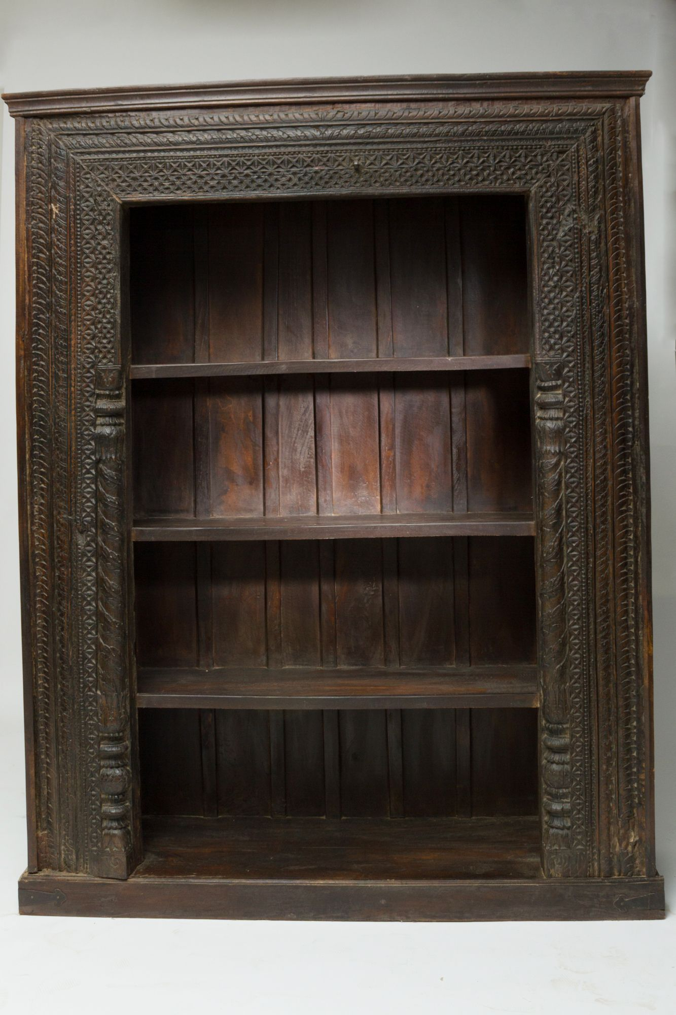 Jodhpurtrends.com A Reclaimed Indian Hand Carved Doorway Is Rebuilt Into A  6 X 9