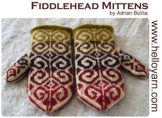 March   2009     Knitting - MITTENS   Pinterest   Mittens, Knit ...