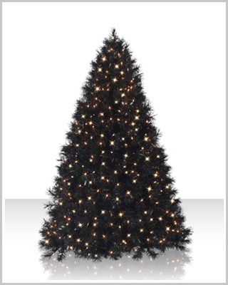 Black Artificial Christmas Tree Christmas Tree Black Christmas