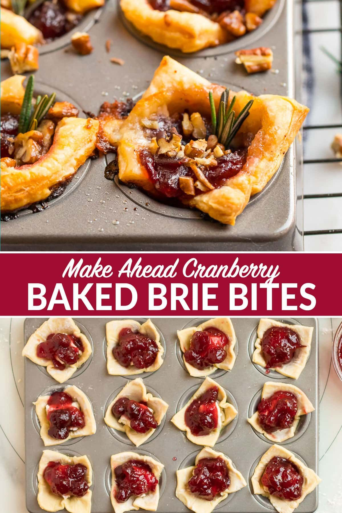 These Easy Baked Brie Bites Are The Ultimate Make Ahead Holiday