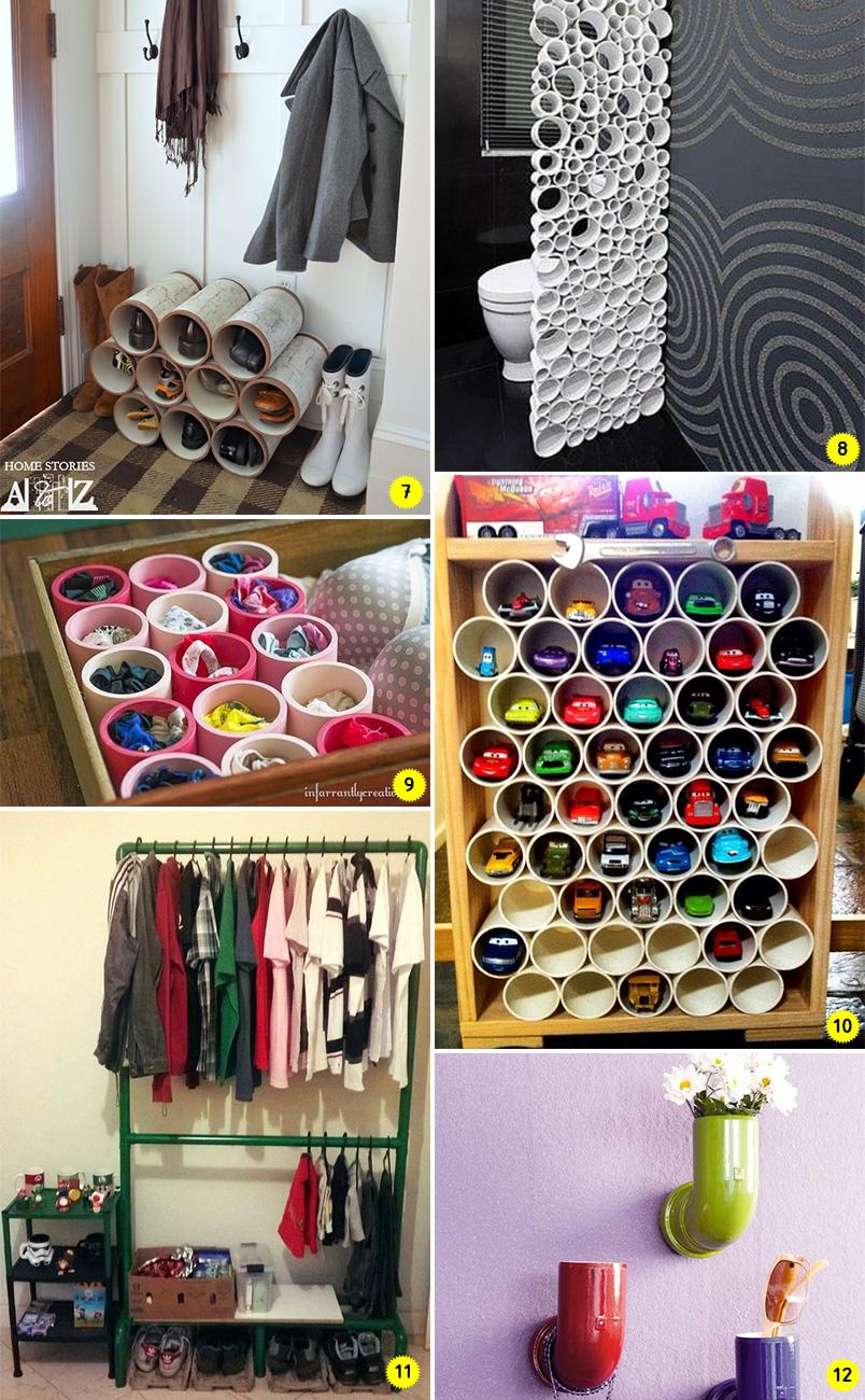 Diy 24 ideias para decorar e organizar a casa usando for Juego de organizar casa