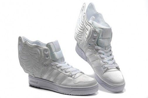 the best attitude ee2c9 1d43b Jeremy Scott - Adidas con Alas blancas