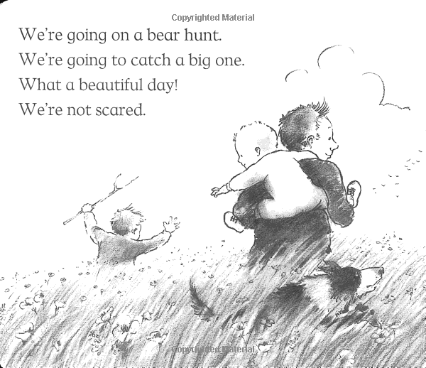 Amazon Com We Re Going On A Bear Hunt Anniversary Edition Of A Modern Classic Bear Early Reading Board Books