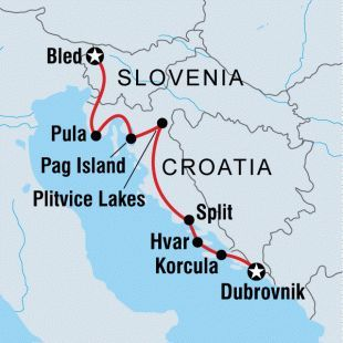 Visit Croatia And Slovenia As You Take The Scenic Route From Lively Dubrovnik To Pristine Bled Experience Both History Croatia Travel Croatia Slovenia Travel