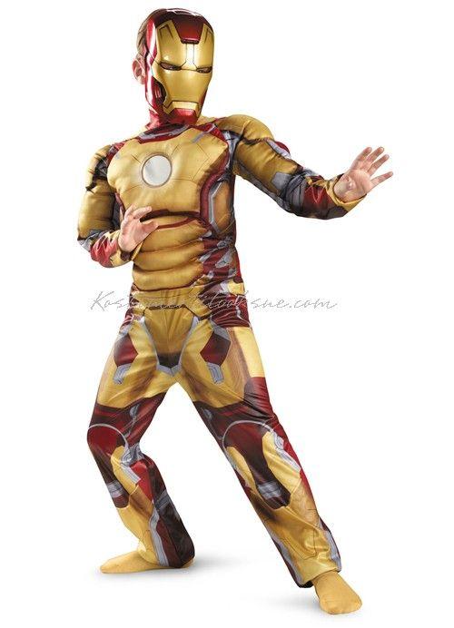 ironman kostume