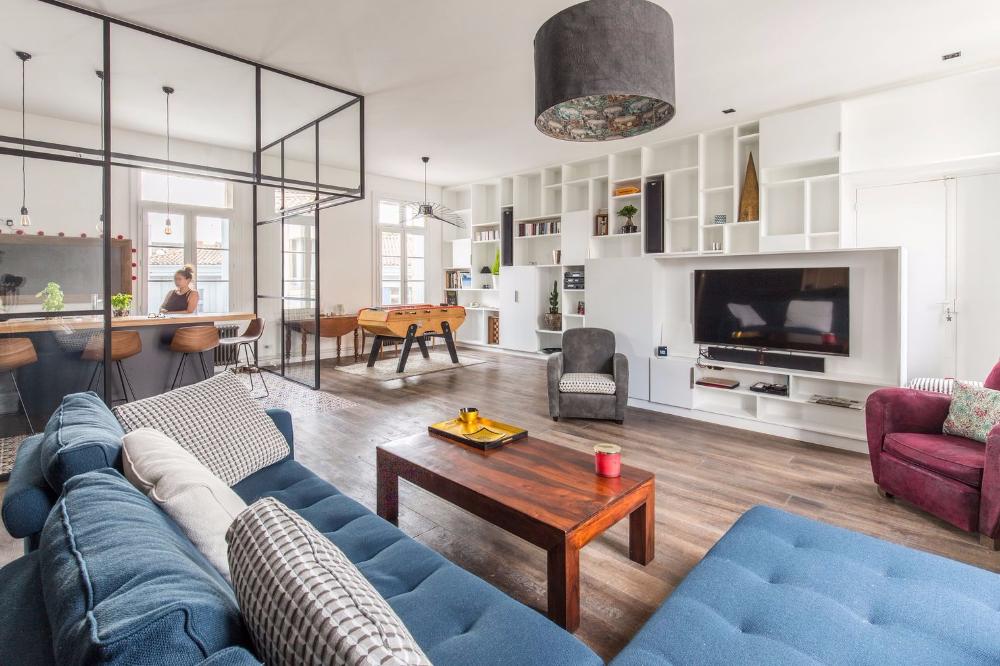 Appartement Montpellier Centre 150 M2 Modernises Pour Une Famille Amenagement Maison Appartement Plan Appartement