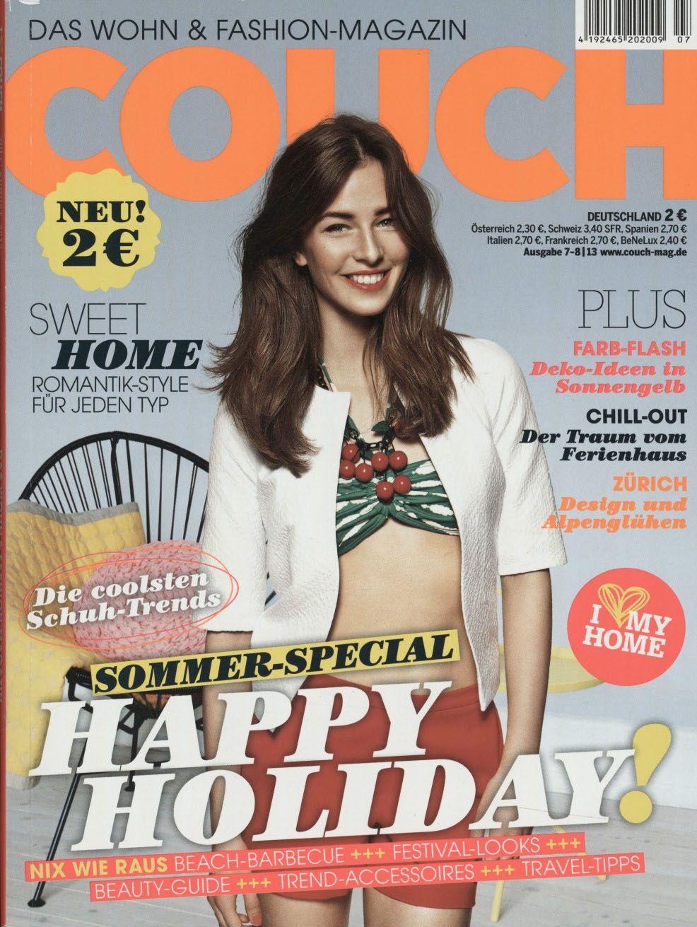 Couch Ausgabe 07 2013 Schoner Wohnen Sweet Home Chillen