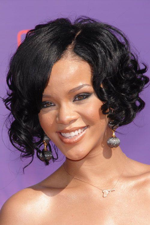 16++ Rihanna short curly hair inspirations