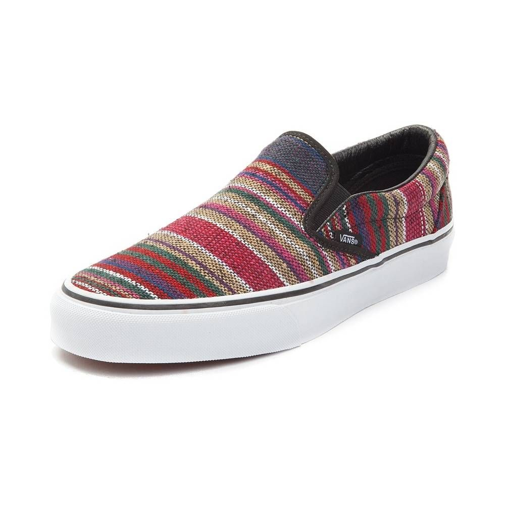 5e326cb6908629 Vans Slip On Baja Skate Shoe - Multi - 497118