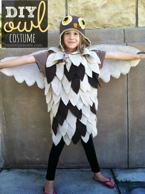 Diy owl costume can it get any cuter than this love diy ideas diy owl costume can it get any cuter than this love solutioingenieria Image collections