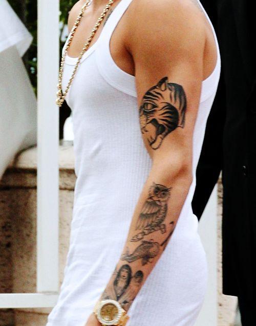 Http Tattoomagz Com Justin Bieber Tattoo Justin Bieber Tattoos Tattoos Cool Chest Tattoos