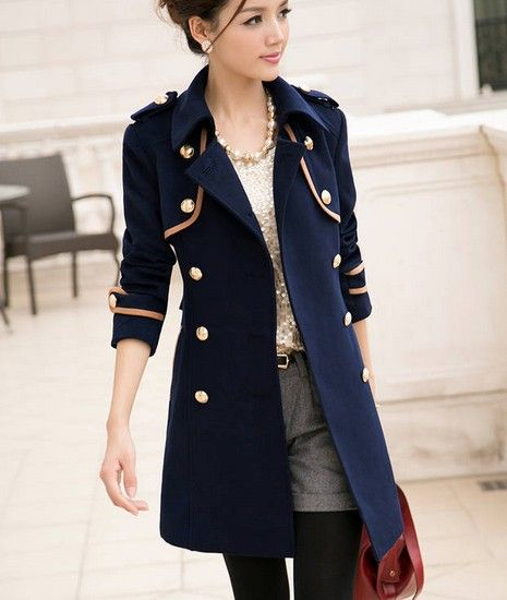 military coat women - Google Search | Fashion Inspiration ...