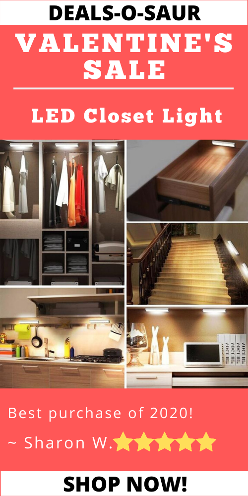 Led Closet Light In 2020 With Images Led Closet Light Closet