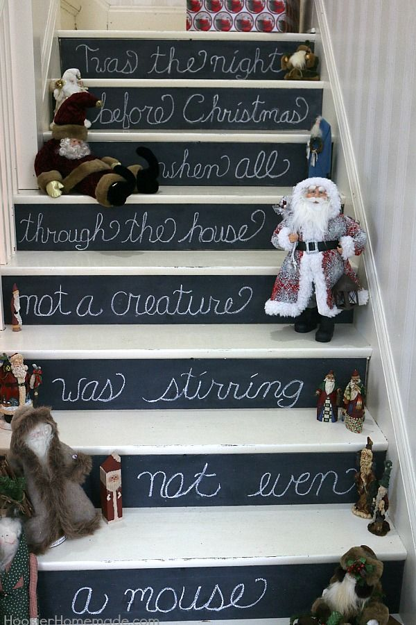 vintage christmas decorating ideas twas the night before christmas when all through the house not a creature holidays christmas and new year