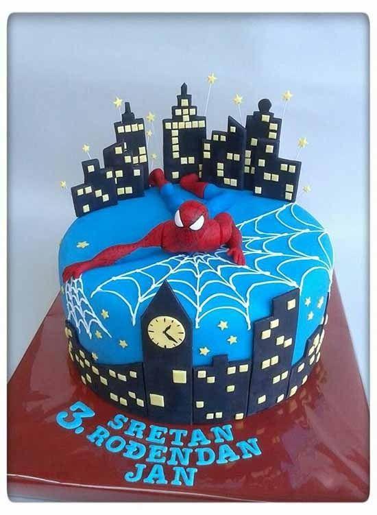 Торт человек паук своими руками фото 891