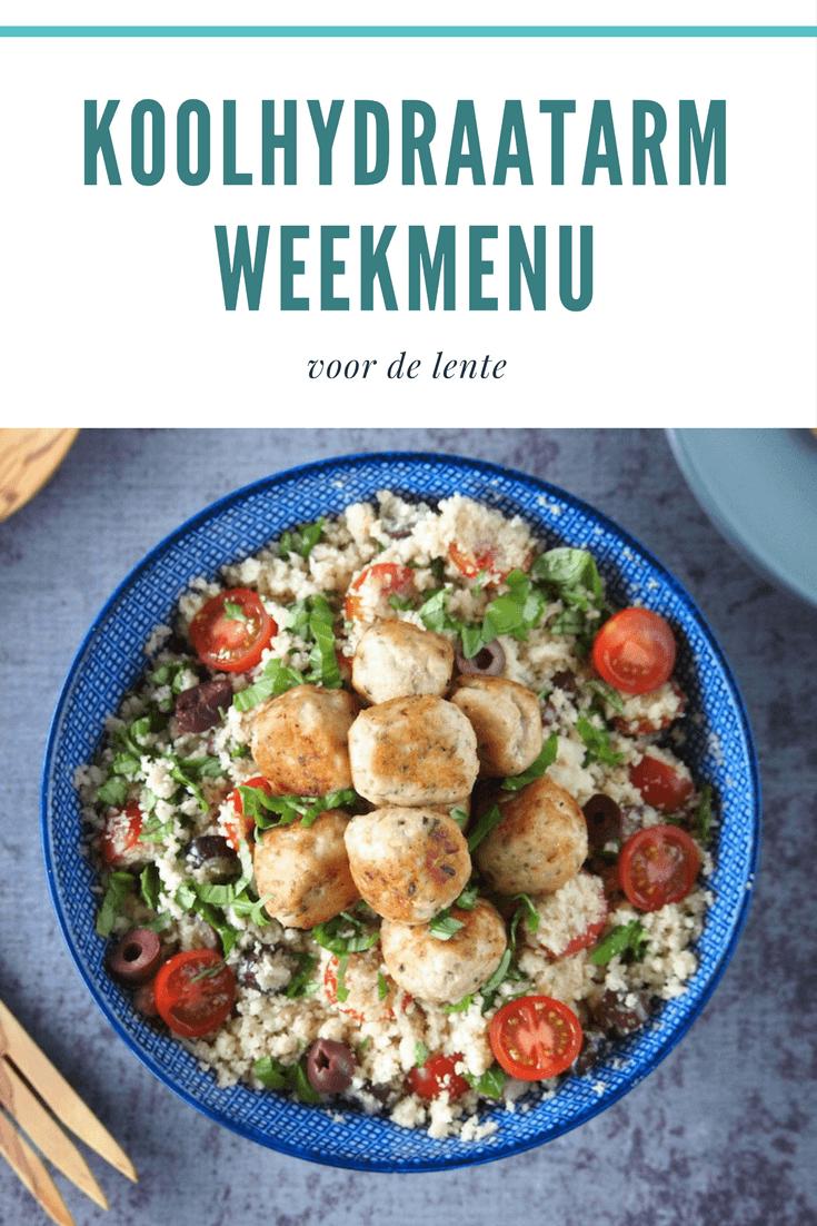 Koolhydraatarm weekmenu vol met lente recepten | Flying Foodie.nl