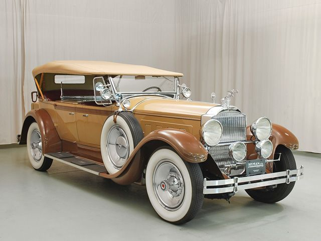 1929 Packard Custom 8 Passenger Side Front View