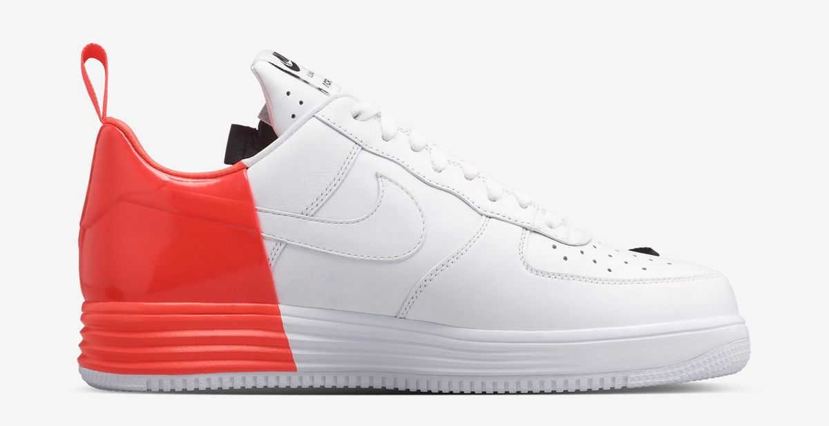 "cheap for discount dc3b5 39430 ACRONYM x Nike Lunar Force 1 SP ""Zip"" - WhiteCrimson"