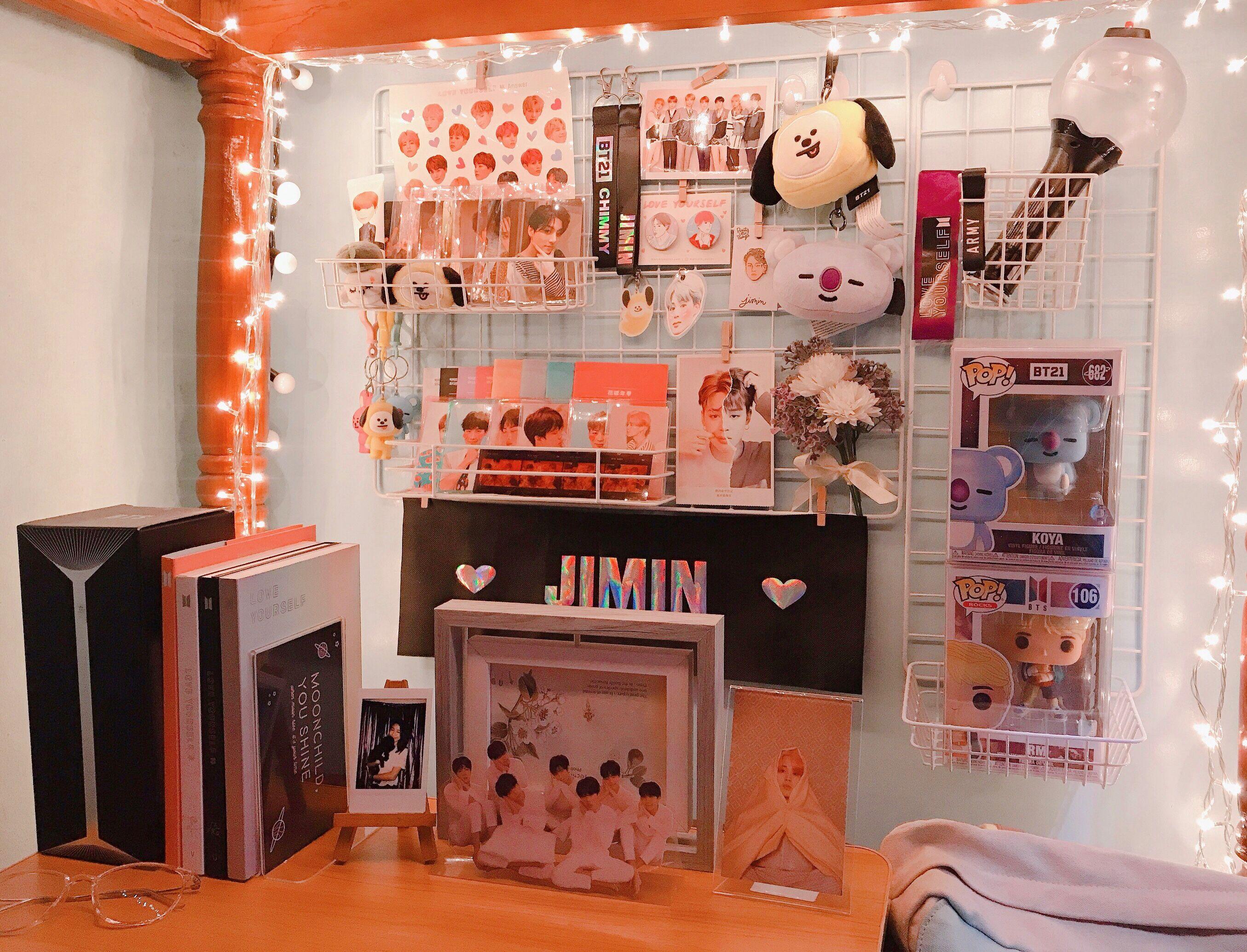 Kpop Room Bts Army Army Room Decor Room Makeover Inspiration Room Organization Bedroom