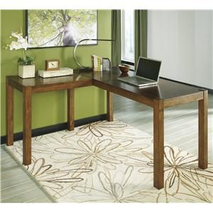 Best Signature Design By Ashley Lobink L Desk Item Number 400 x 300