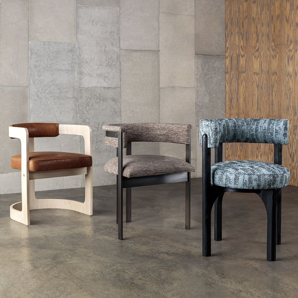 Kelly Wearstler Dining Chairs From Left To Right Zuma Chair Elliott And Heron