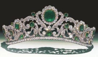 The Royal Order of Sartorial Splendor: Tiara Thursday: The Duchess of Angoulême's Emerald Tiara