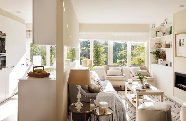 Un petit appartement familial transformé en grand appartement pour