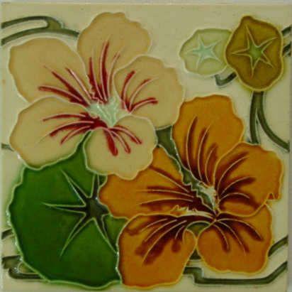 Art1900 Antiquitaten Berlin Kurfurstendamm 53 Jugendstilfliese Art 1900 Art Nouveau Tile Jugendstil Blumen Jugendstilfliesen Fliesen Im Jugendstil
