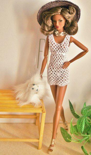 Pin by oksana vasilevskaya on вязание для кукол Барби ...