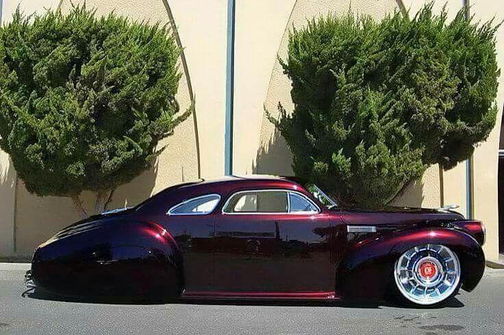 Black Cherry Car Paint: 1940 LaSalle Series 52 Special, Black Cherry Color