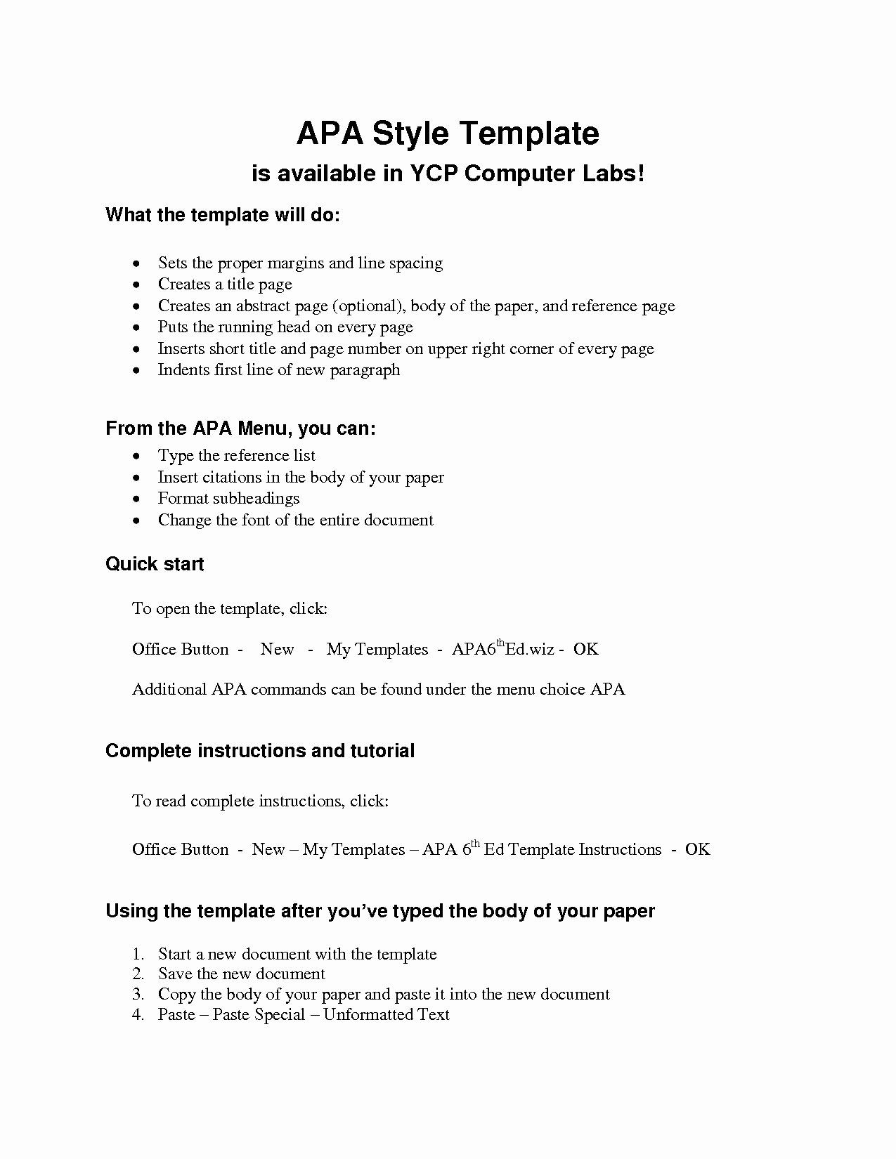 Apa Format Template Free New Apa Outline Template Apa Research Paper Research Paper Outline Template Research Paper Outline