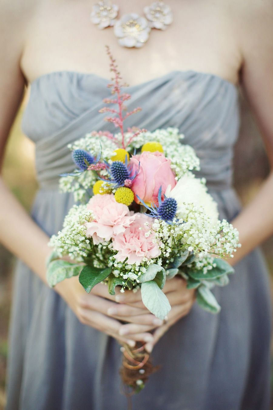 A lovely arrangement | DIY Vintage Wedding at The Mathis House from The Reason  Read more - http://www.stylemepretty.com/florida-weddings/2013/11/05/diy-vintage-wedding-at-the-mathis-house-from-the-reason/