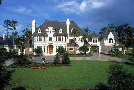 Plan HD French Chateau to Call Your Own
