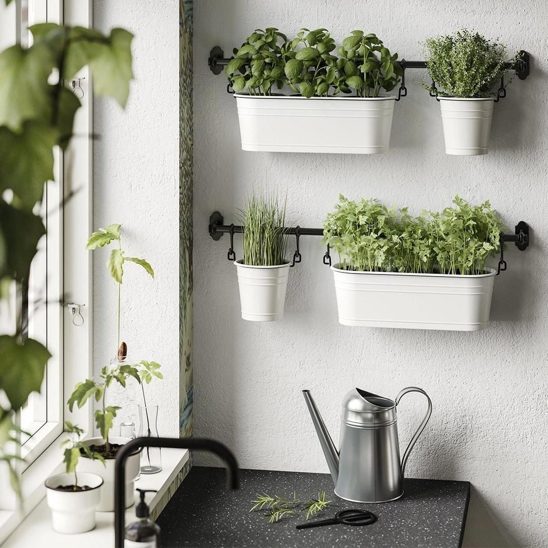 ikea canada on instagram locally grown right in your own kitchen ikea ikeacanada fintorp on outdoor kitchen herb garden id=85106