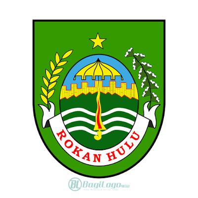 Kabupaten Rokan Hulu Logo Vector In 2020 Vector Logo Logos Custom Logos
