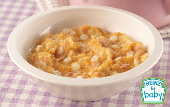 Sweet Potato And Tuna Pasta Recipe For Baby